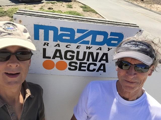 Laguna Seca selfie